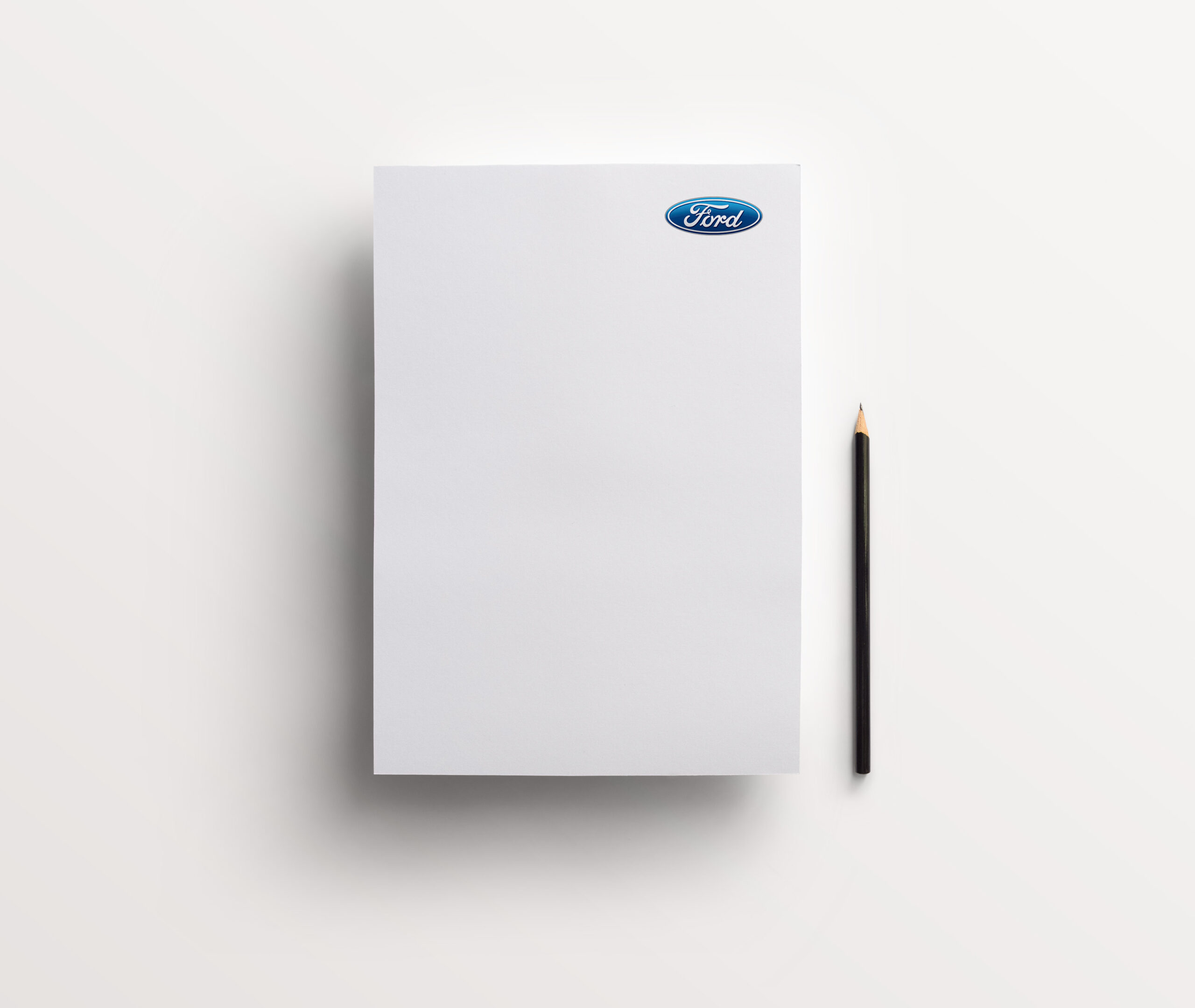 Ford Letterhead with Pencil