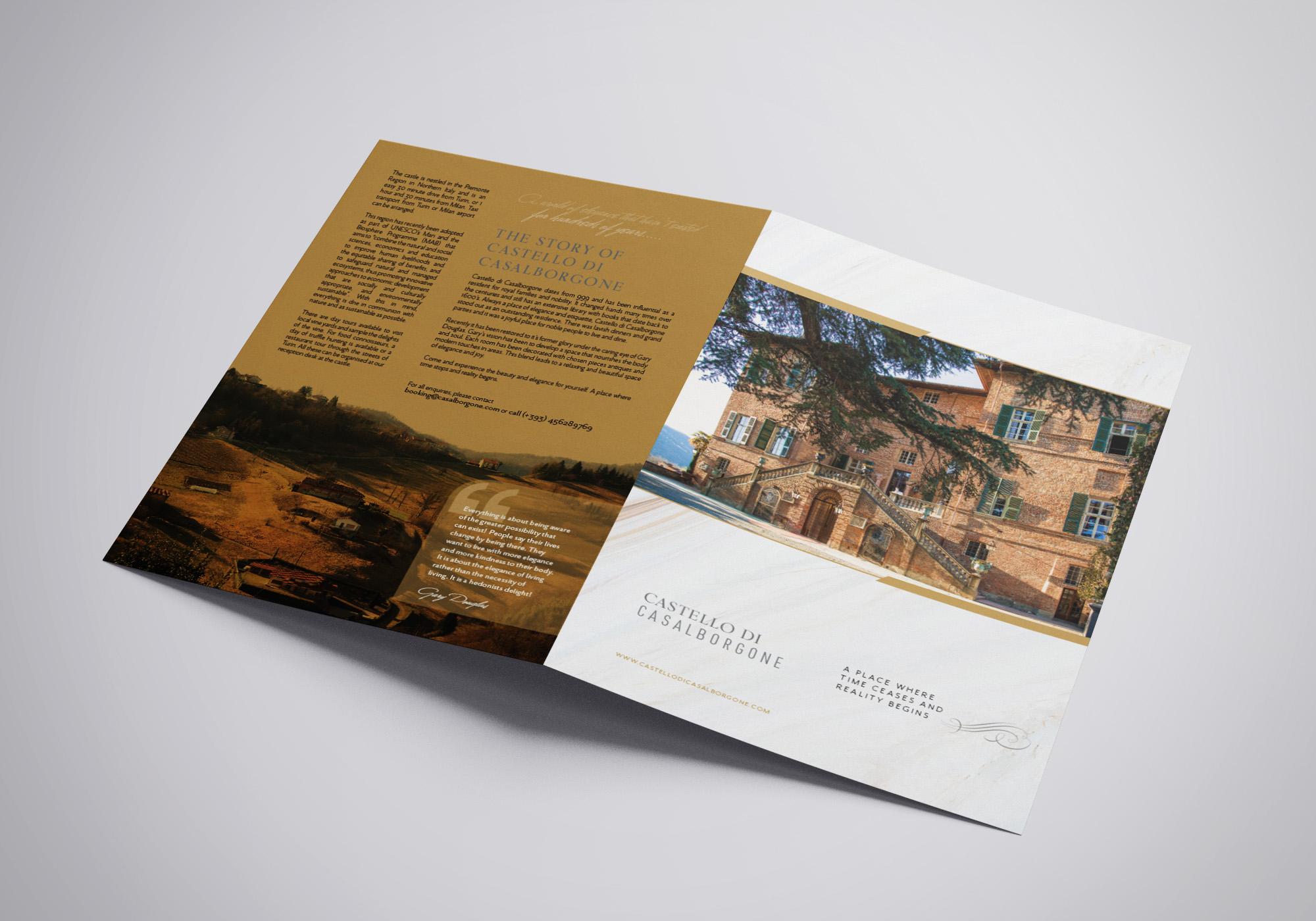 Castello Di Castleborgne outside Brochure