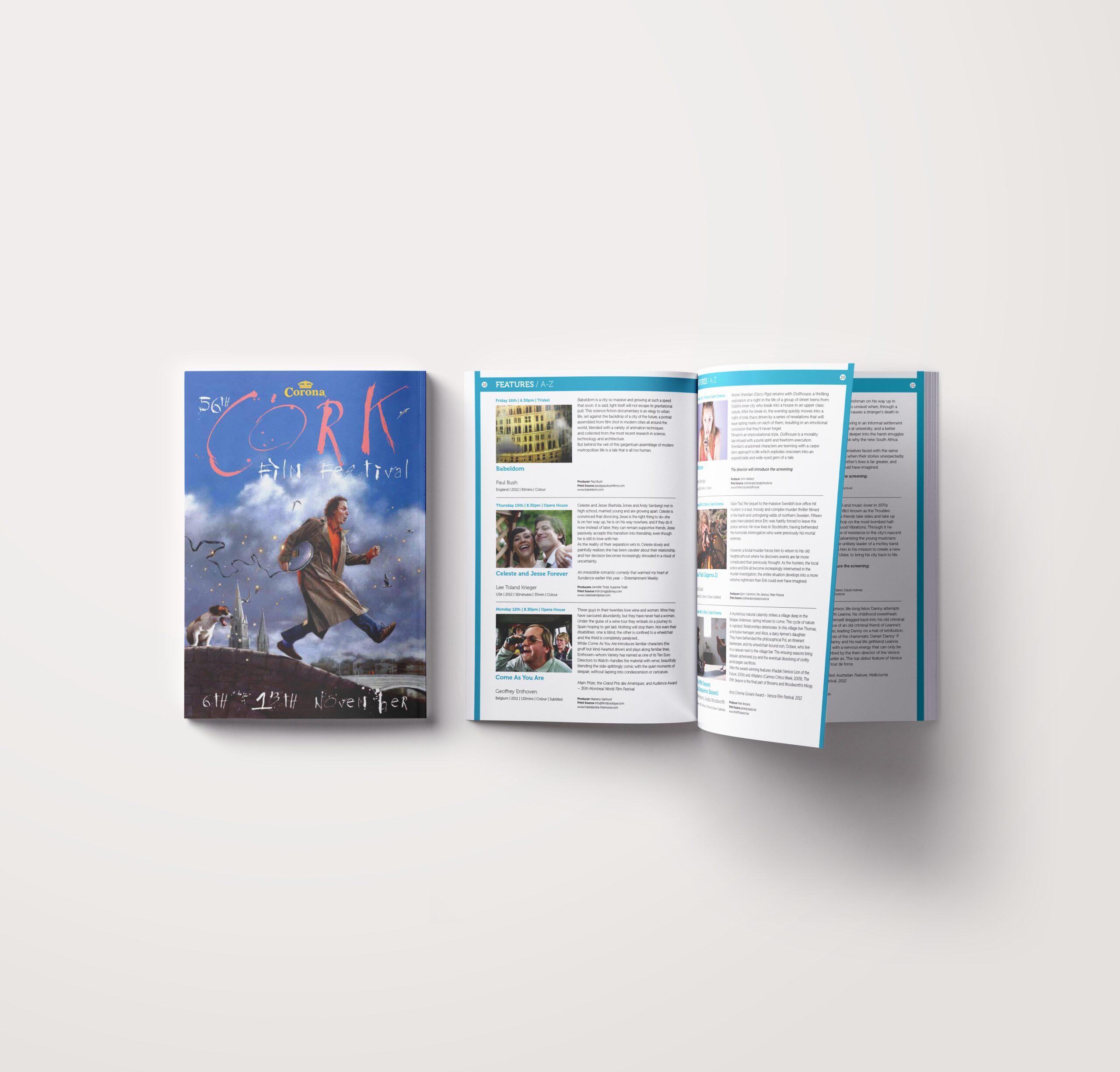 Cork Film Festival Brochure