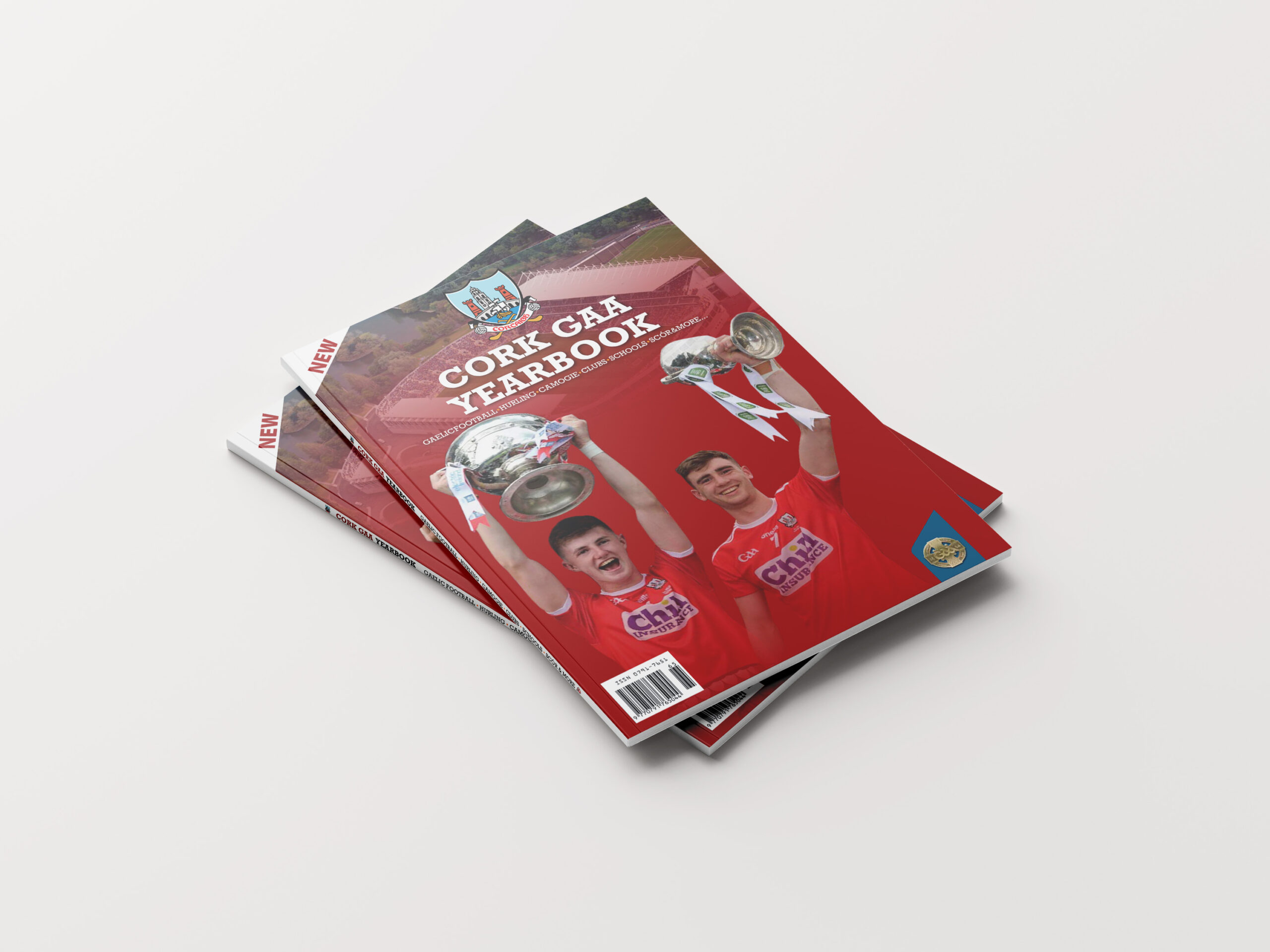 Perfect Bound Cover of Cork GAA Yearbook