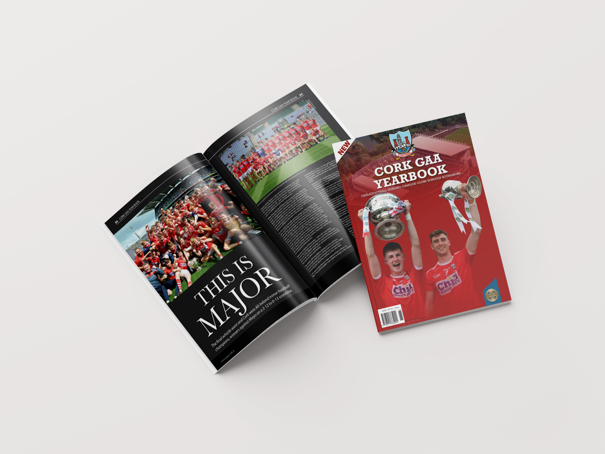 Inside and Cover of Cork GAA Yearbook