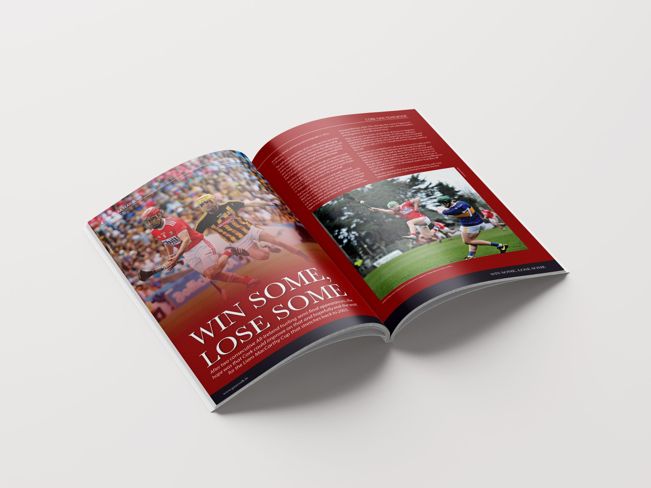 Inside Pages of Cork GAA Yearbook