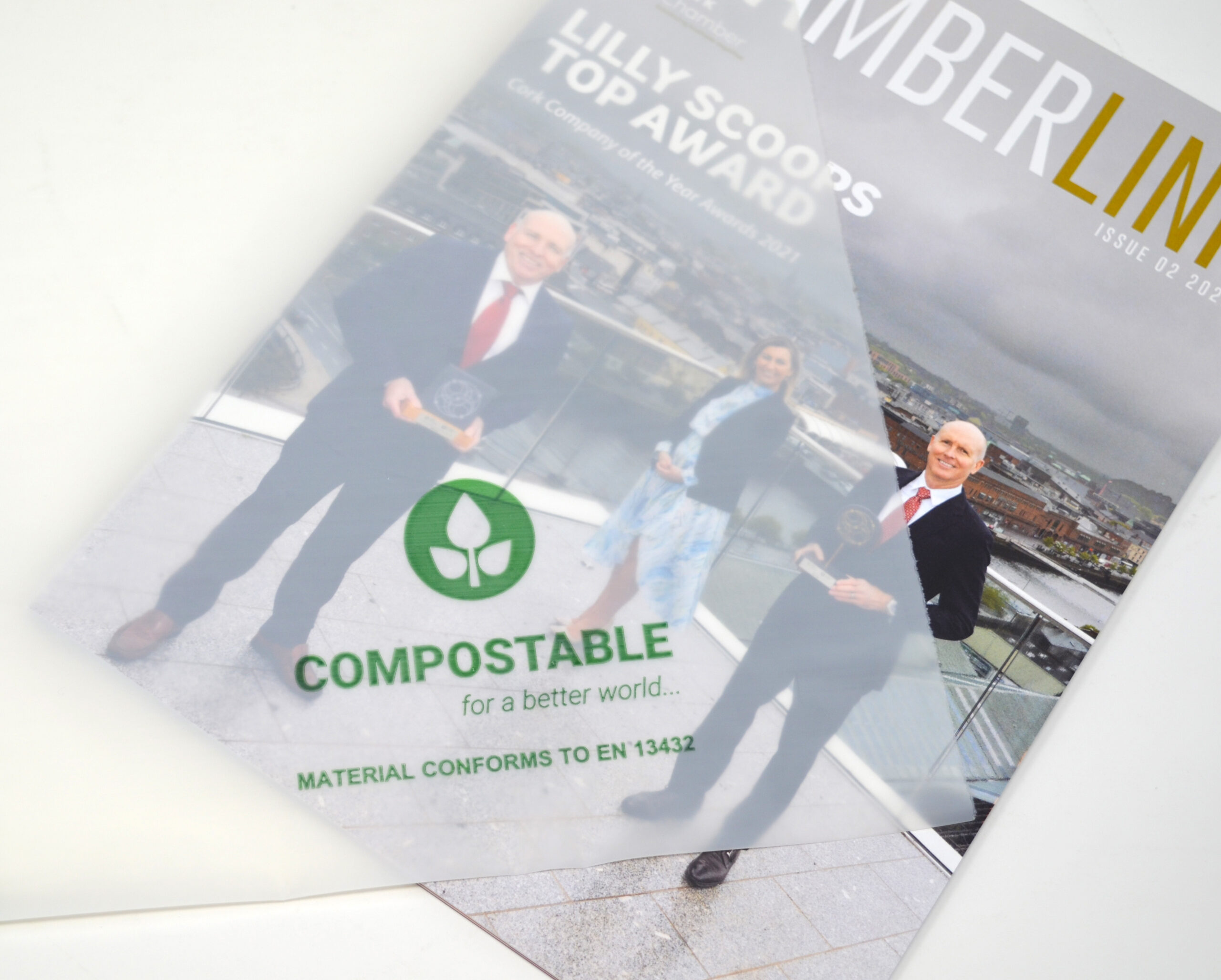 Chamberlink with Comostable Polybag