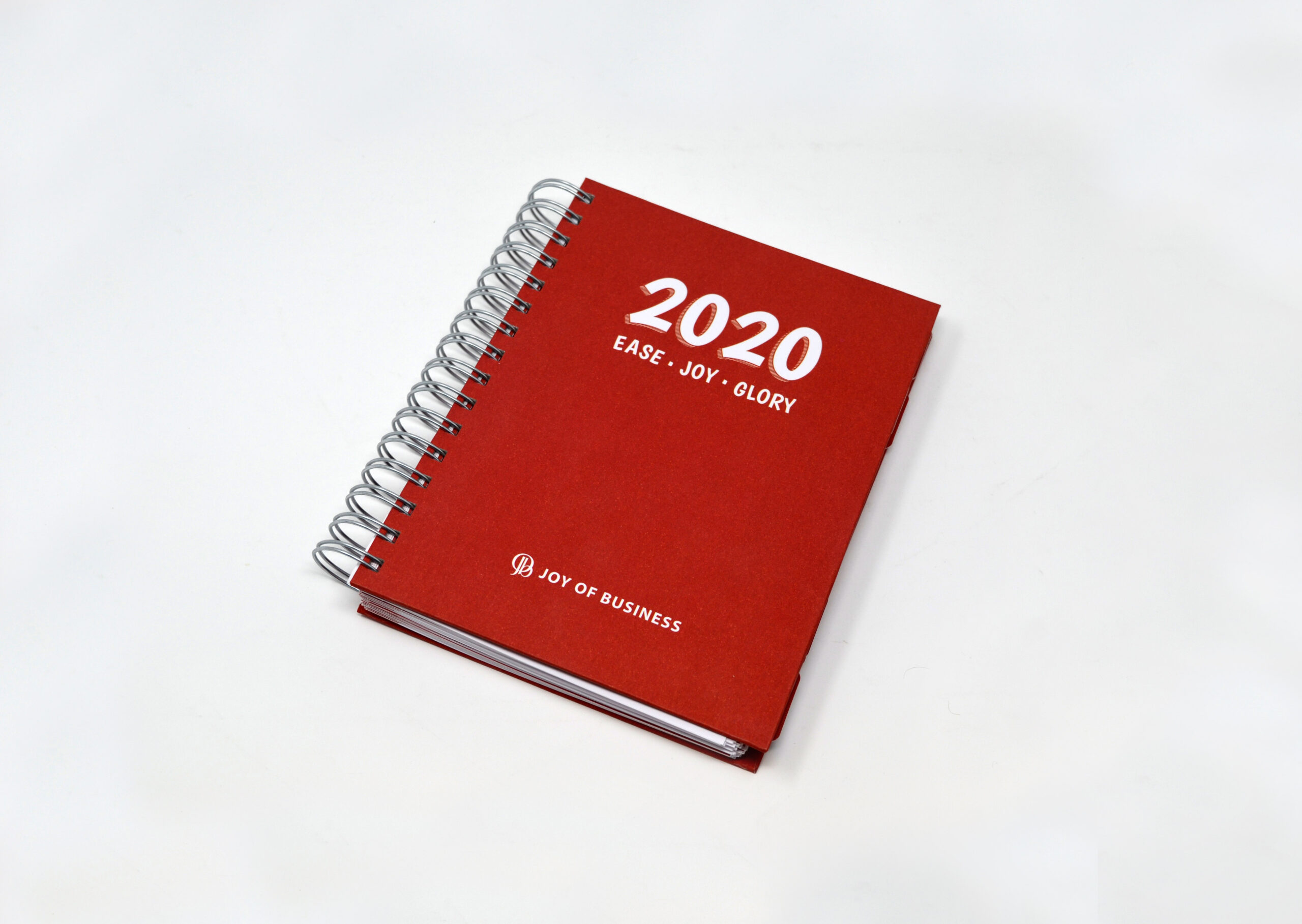 Wiro-bound Diary Cover